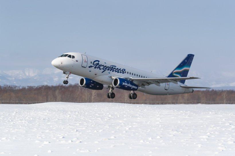 Рейсы АК «Якутия» перенаправили в Мирный из-за обильного снега в аэропорту Якутска