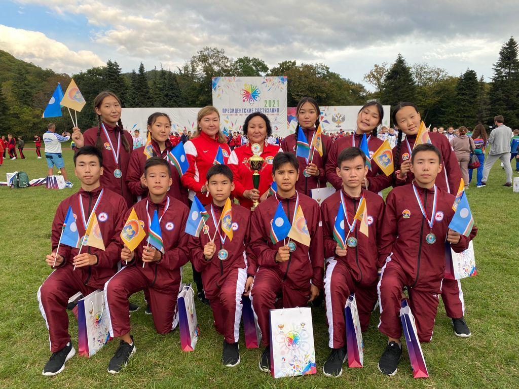 Якутские школьники стали призерами «Президентских состязаний»