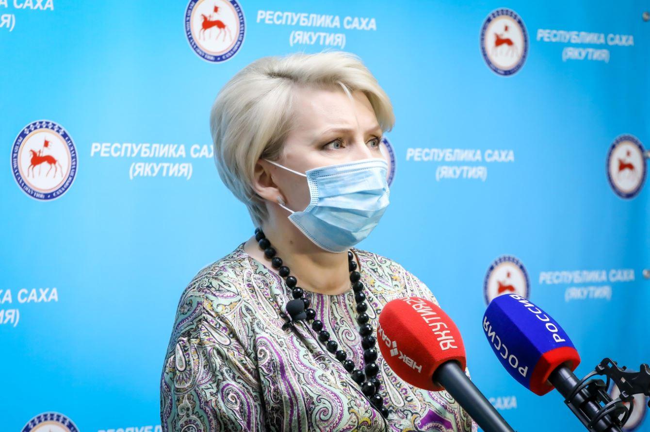 Брифинг Ольги Балабкиной об эпидобстановке на 13 октября: трансляция «Якутия 24»