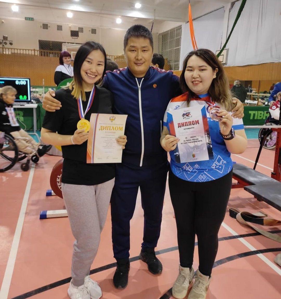 Якутяне завоевали медали чемпионата и Кубка России по пауэрлифтингу