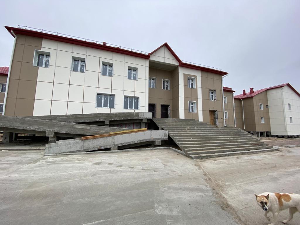 Новый больничный комплекс строят в Вилюйском районе Якутии