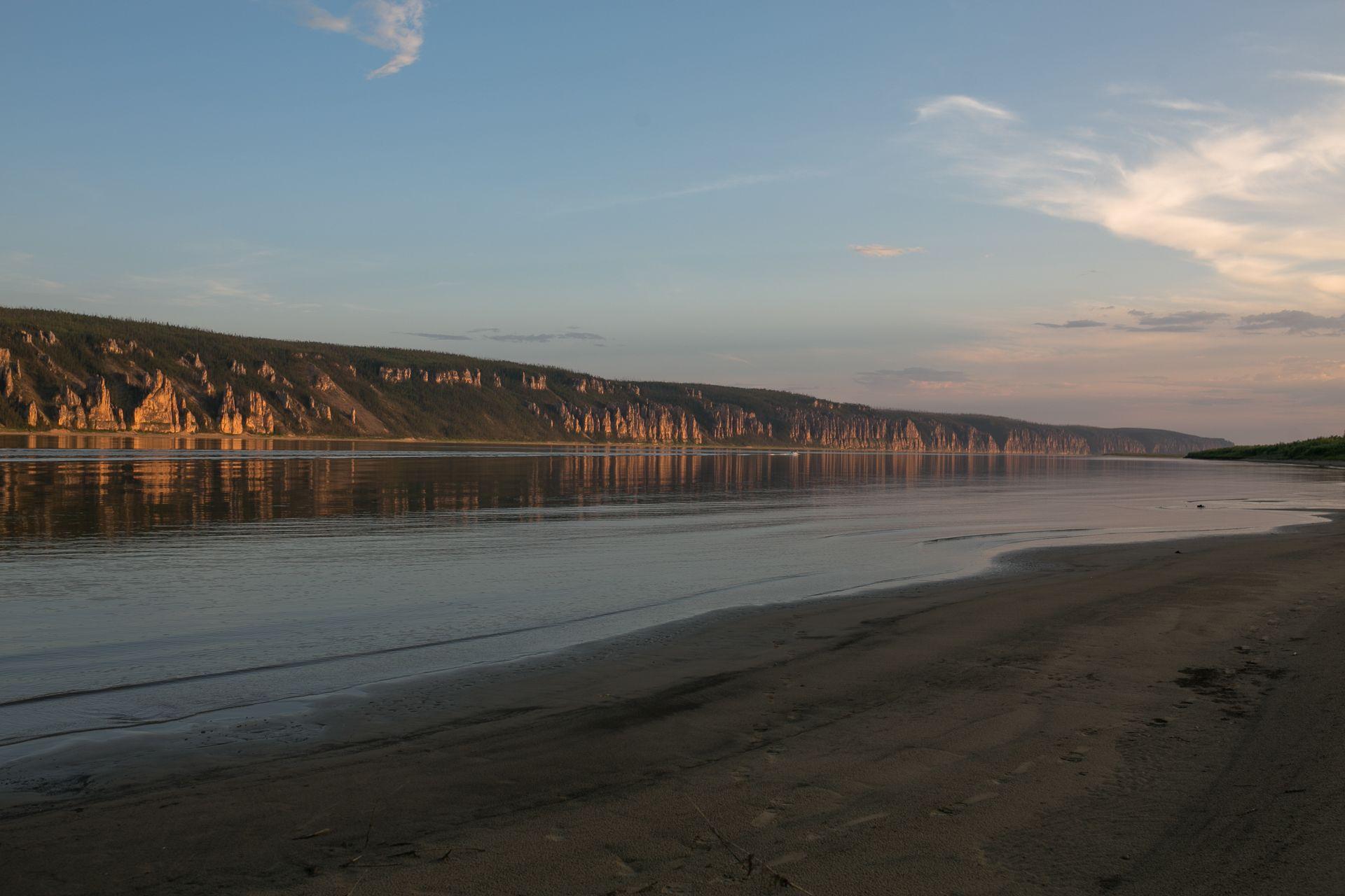 Рост уровня воды на Лене ожидается на участке Покровск-Табага в Якутии